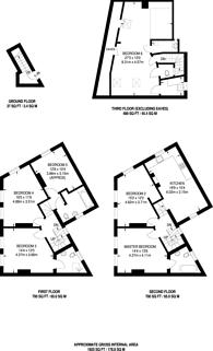 Large floorplan for Tower Bridge Road, Bermondsey, SE1
