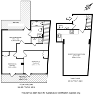 Large floorplan for Hackney Road, Shoreditch, E2