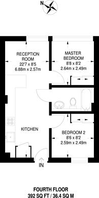 Large floorplan for Scarbrook Road, Central Croydon, CR0
