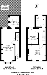 Large floorplan for Broadway Avenue, Croydon, CR0