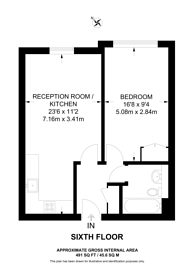 Large floorplan for Queenstown Road, Battersea Park, SW11