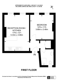 Large floorplan for Coombe Road, South Croydon, CR0
