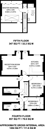 Large floorplan for South Audley Street, Mayfair, W1K