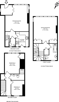 Large floorplan for Sprimont Place, Chelsea, SW3
