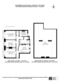 Large floorplan for Burgess Park Mansions, West Hampstead, NW6