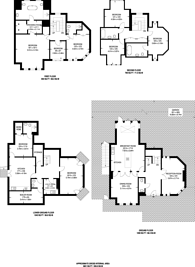 Large floorplan for Havanna Drive, Temple Fortune, NW11