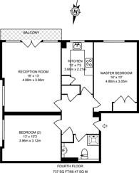 Large floorplan for Shepherds Hill, Highgate, N6