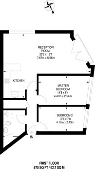 Large floorplan for Falconet Court, Wapping, E1W