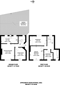 Large floorplan for Alexandra Road, Mitcham, CR4