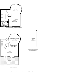 Large floorplan for Doves Yard, Barnsbury, N1