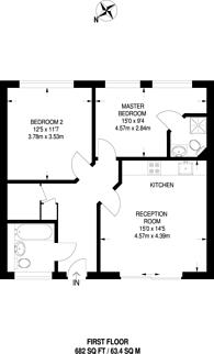 Large floorplan for Myrdle Street, Whitechapel, E1