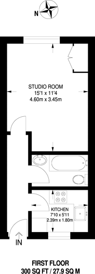 Large floorplan for Gatliff Close, SW1W, Belgravia, SW1W