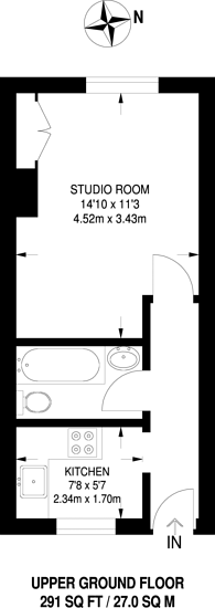 Large floorplan for Ebury Bridge Road, SW1W, Belgravia, SW1W