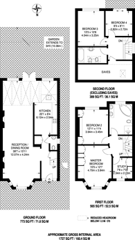 Large floorplan for Geary Road, Cricklewood, NW10