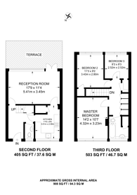 Large floorplan for Somerset Road, Kingston, KT1