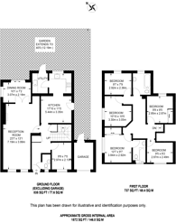 Large floorplan for Manston Road, Burpham, GU4