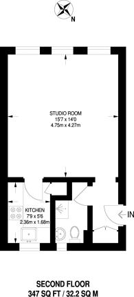 Large floorplan for Ivy Court, Blackheath, SE3