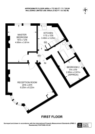 Large floorplan for Clyde Road, Alexandra Park, N22