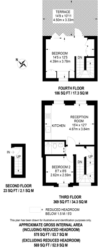 Large floorplan for Clarendon Road, Clarendon Cross, W11