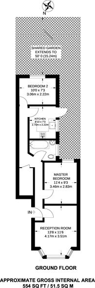 Large floorplan for Redfern Road, Harlesden, NW10