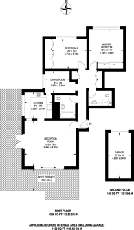 Large floorplan for West Hill, West Hill, SW15