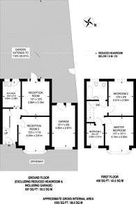 Large floorplan for Alexandra Avenue, Harrow, HA2
