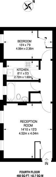 Large floorplan for Gilbert Street W1, Mayfair, W1K