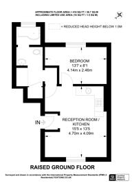 Large floorplan for Holmesdale Road, South Norwood, SE25