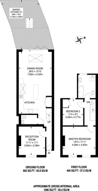 Large floorplan for Merton Road, Southfields, SW18