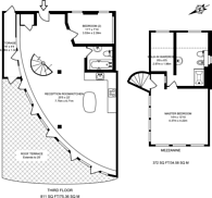 Large floorplan for Arlington Road, Camden, NW1