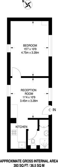 Large floorplan for Longley Road, Croydon, CR0