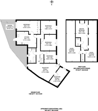 Large floorplan for Lowfield Road, Acton, W3