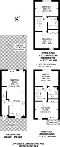 Large floorplan for Napier Avenue, Isle Of Dogs, E14