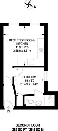 Large floorplan for Manor Road, Wallington, SM6