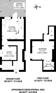 Large floorplan for Cecil Road, Plaistow, E13
