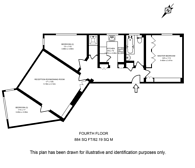 Large floorplan for Wellesley Road, Chiswick, W4