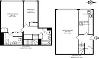 Large floorplan for Nottingham Terrace, Regent's Park, NW1