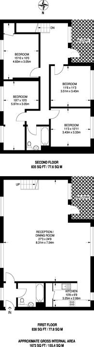 Large floorplan for Reservoir Studios, Limehouse, E1W