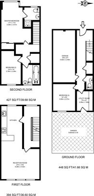 Large floorplan for Keats Avenue, Silvertown, E16