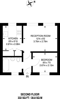 Large floorplan for The Orchard, Bedford Park, W4