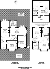 Large floorplan for Carlyle Road, Croydon, CR0