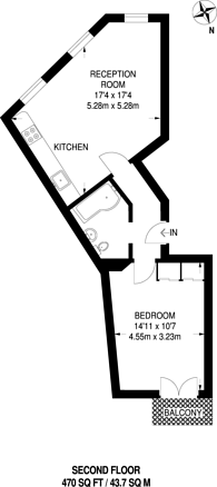 Large floorplan for Fulham Broadway, Fulham Broadway, SW6