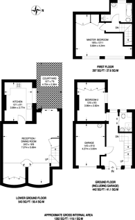 Large floorplan for Aylesford Street, Pimlico, SW1V