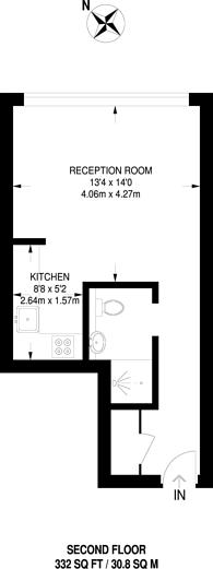 Large floorplan for Aqua Vista Square, Bow, E3
