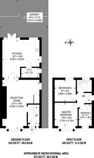 Large floorplan for Southview Road, Bromley, BR1