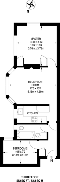 Large floorplan for Chiswick Village, Chiswick, W4