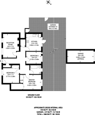 Large floorplan for College Road, Dulwich, SE21