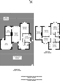 Large floorplan for Clarence Road, Sutton, SM6