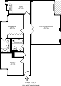 Large floorplan for Barrier Point Road, Silvertown, E16