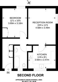 Large floorplan for Barrow Hill, St John's Wood, NW8